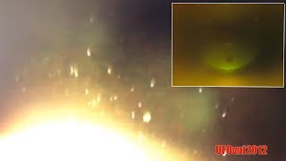 "Photographed ""Huge Object"" and massive UFO fleet near the Sun"