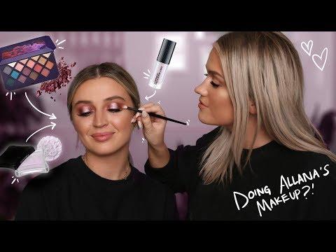 DOING ALLANA'S MAKEUP | Samantha Ravndahl