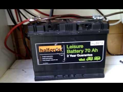Solar Powered Shed Setup Uk Battery Upgrade Youtube