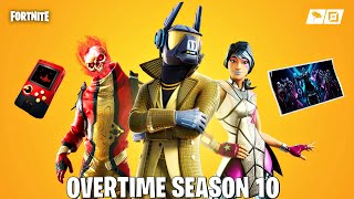 Fortnite New Season 10 Overtime Free Rewards + Challenges! (Fortnite Free Rewards)