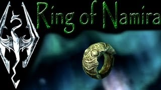 "Skyrim: Daedric Artifacts - Ring of Namira (""The Taste of Death"" quest)"