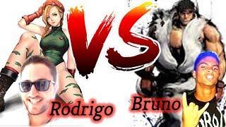 Rodrigo (Cammy) V.S Bruno (Ryu) CBx League - #01 - Street Fighter Ultra IV  12ª Luta