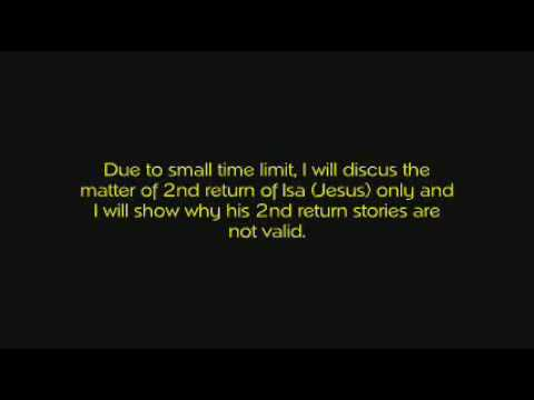 Re: Is The Mahdi The Antichrist? Responding Colins New Video