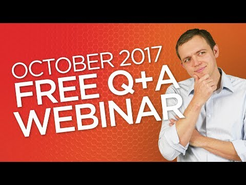 Ep 156: Stock Trading Webinar Q+A (Oct 2017)