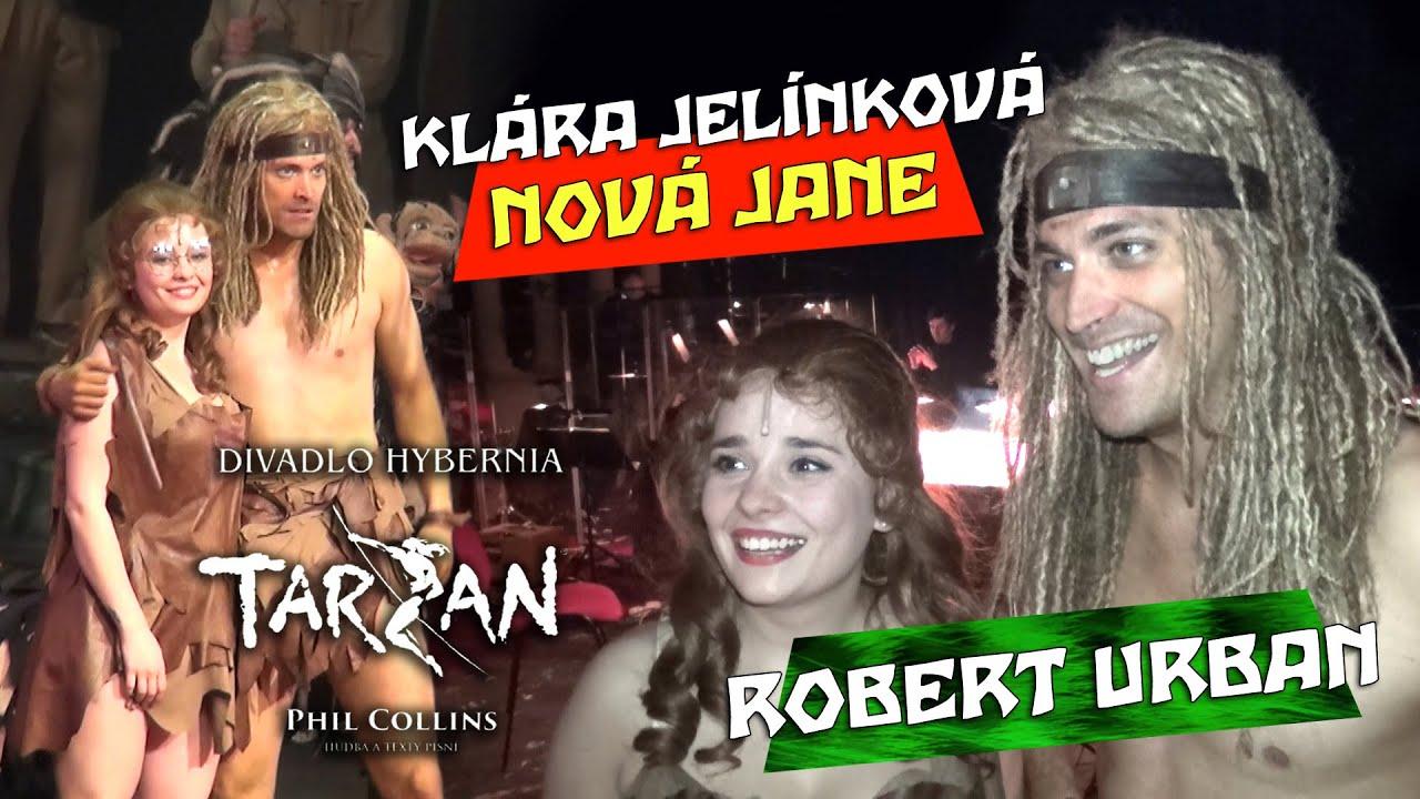 Download Nová Jane Klára Jelínková a Tarzan Robert Urban 🌿 Muzikál TARZAN 2020 - Divadlo Hybernia (Czech)