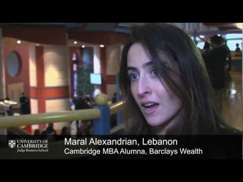 Maral Alexandrian, Lebanon, Cambridge MBA alumna: private equity (Barclays Wealth)