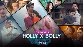 Hollywood x Bollywood MASHUP 2020 | DJ Dave P | Love Mashup Bolly & Holly Songs 2020 | VDJ VIK