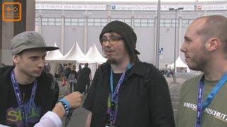 Kapuzenwurm, dhalucard und Graenz im Interview (uncut) - Gamescom 2014