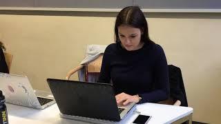 Ines Maier über ihr Studium Kommunikationswirtschaft