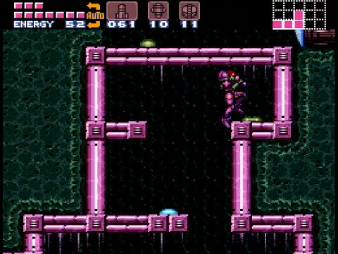 Super Metroid - 100% in 1:16:39 (0:45 game time)