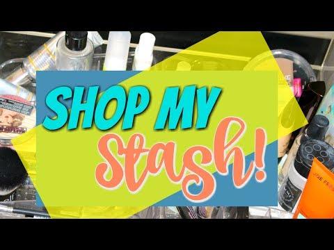 Shop My Stash/Everyday Makeup Drawer! July 2017   DreaCN