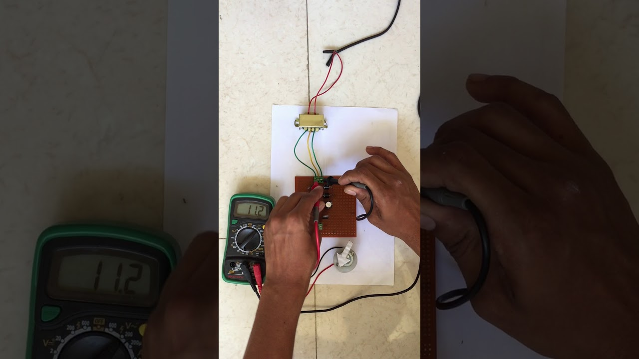 12v And Dual Power Supply Circuit Youtube 3 Rail 5v Regulated Diagram