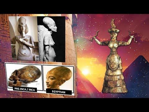 ¿Son los Egipcios descendientes de una cultura madre Desconocida?