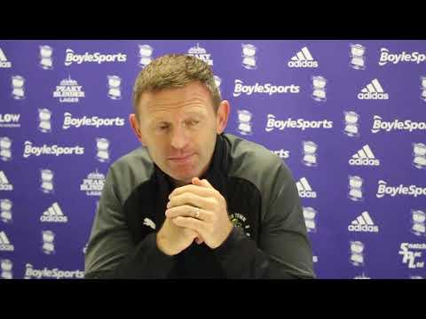 Graeme Jones on the defeat to Birmingham City