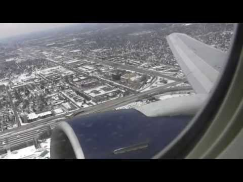 Classic Boeing 767 Takeoff From Minneapolis/St. Paul On Runway 17!