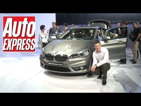BMW 2 Series Active Tourer at the Geneva Motor Show 2014