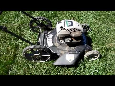 "Yard Machines Lawn Mower 4HP B&S Engine  22"" Broken & Repair Overview - Part I - Sept 23, 2013"