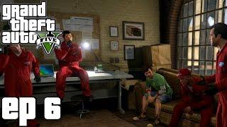 Grand Theft Auto 5 Parte 6 - O Golpe da Joalheria (PC Gameplay em Português) - Sem Comentários