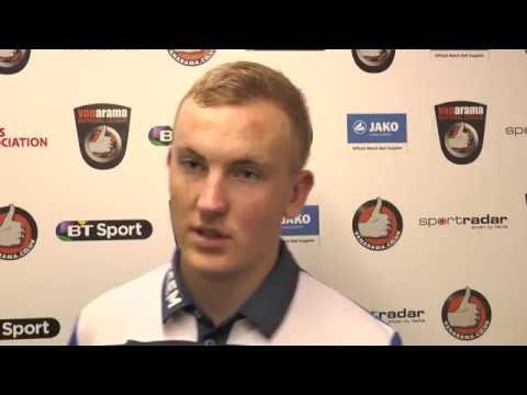 Ryan Ellison Post-Match Interview - Alfreton Town