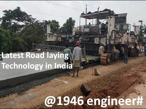 Latest Road Paving Technology In India
