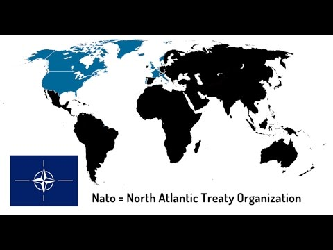 Die Nato und der Warschauer Pakt