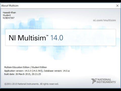 Программа для разрабатывания и моделирования электронных схем - Multisim & Ultiboard PowerPro 14.0.1 Rus скачать бесплатно