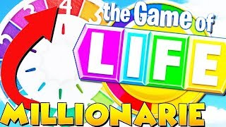 HOW TO MAKE $1,000,000 IN LIFE! - THE GAME OF LIFE (Board Game)
