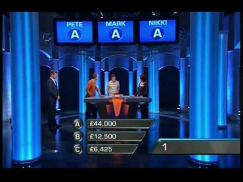 ITV Divided Game Show April 2010 Pete Mark Nikki - End Game