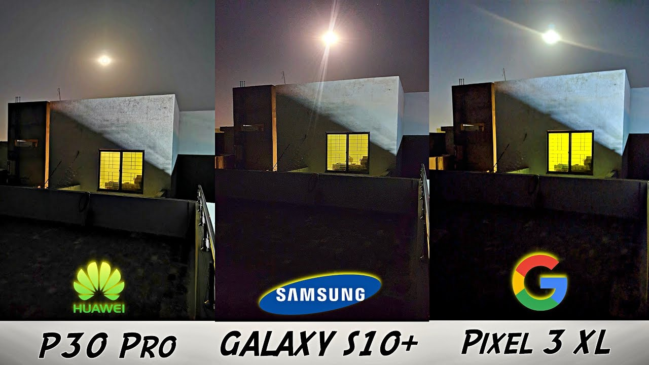 Samsung Galaxy S10 OFFICIAL Night Mode Review vs Huawei P30 Pro, Pixel 3XL  \u0026 iPhone XS MAX!