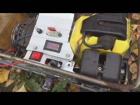 бензогенератор 12 вольт своими руками