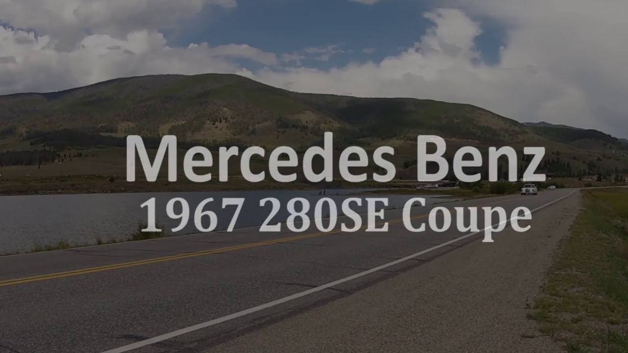 1967 mercedes benz 280se coupe for sale youtube for Mercedes benz watch for sale