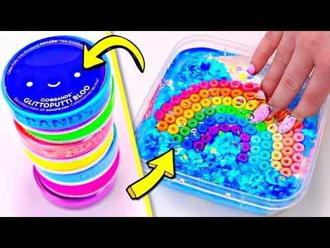 ADDING TOO MUCH INGREDIENTS TO SLIME! Adding Too Much Of Everything Into SLIME!