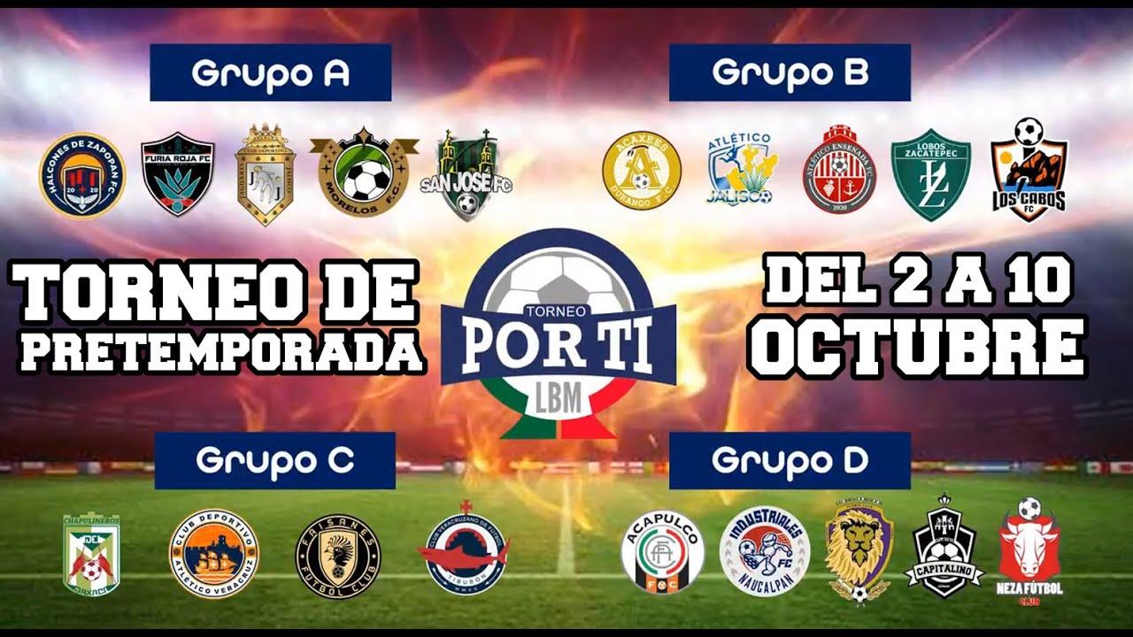 La Liga de Balompié Mexicano anuncia su torneo de Pretemporada