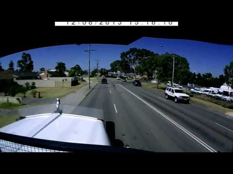 Crazy Nissan Skyline driver in Perth
