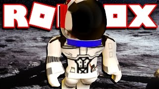 GONE TO THE MOON IN ROBLOX!!!