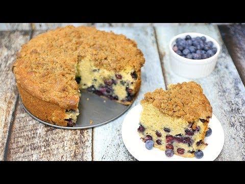 Blueberry Coffee Cake - Blueberry Streusel Coffee Cake