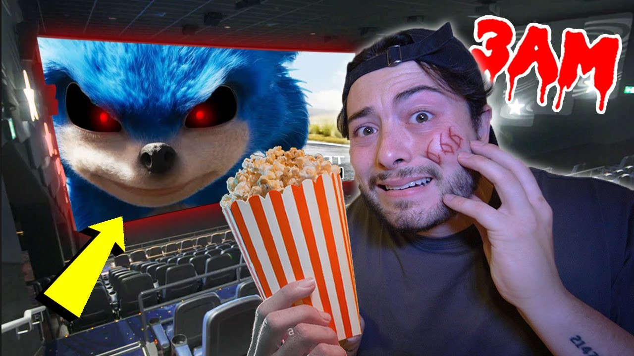 DO NOT WATCH SONIC.EXE MOVIE AT 3 AM!! *HE CAME TO LIFE*
