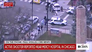 Police officer, 2 staffers killed in shooting at Mercy Hospital in Chicago