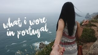 Travel Capsule Wardrobe: What I Wore in Portugal   TRAVEL #OOTD   Procrastinating Pretty