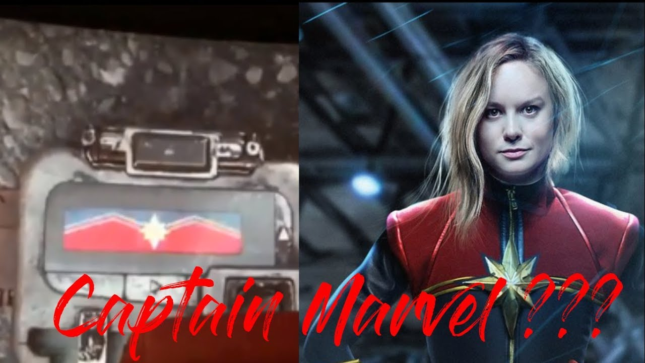 avengers: infinity war | end credits | captain marvel!!