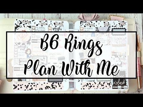 B6 Rings Plan With Me | Kikki K B6 Ring Planner