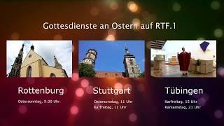 Gottesdienste auf RTF.1 10.04.2020