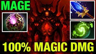 100% MAGIC DAMAGE!! - MAGE SHADOW FIEND - Dota 2
