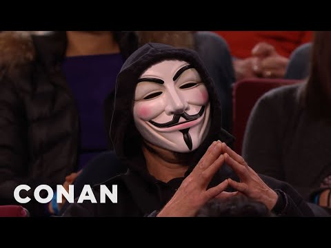 "Conan Has Angered ""Anonymous""  - CONAN on TBS"