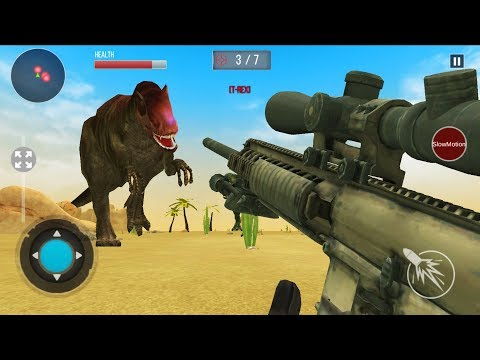 DINOSAUR HUNT 2019 - Walkthrough Gameplay Part 2 - THE END (New Dinosaur Games Android)