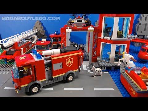 LEGO City Burger Bar Fire Rescue 60214.