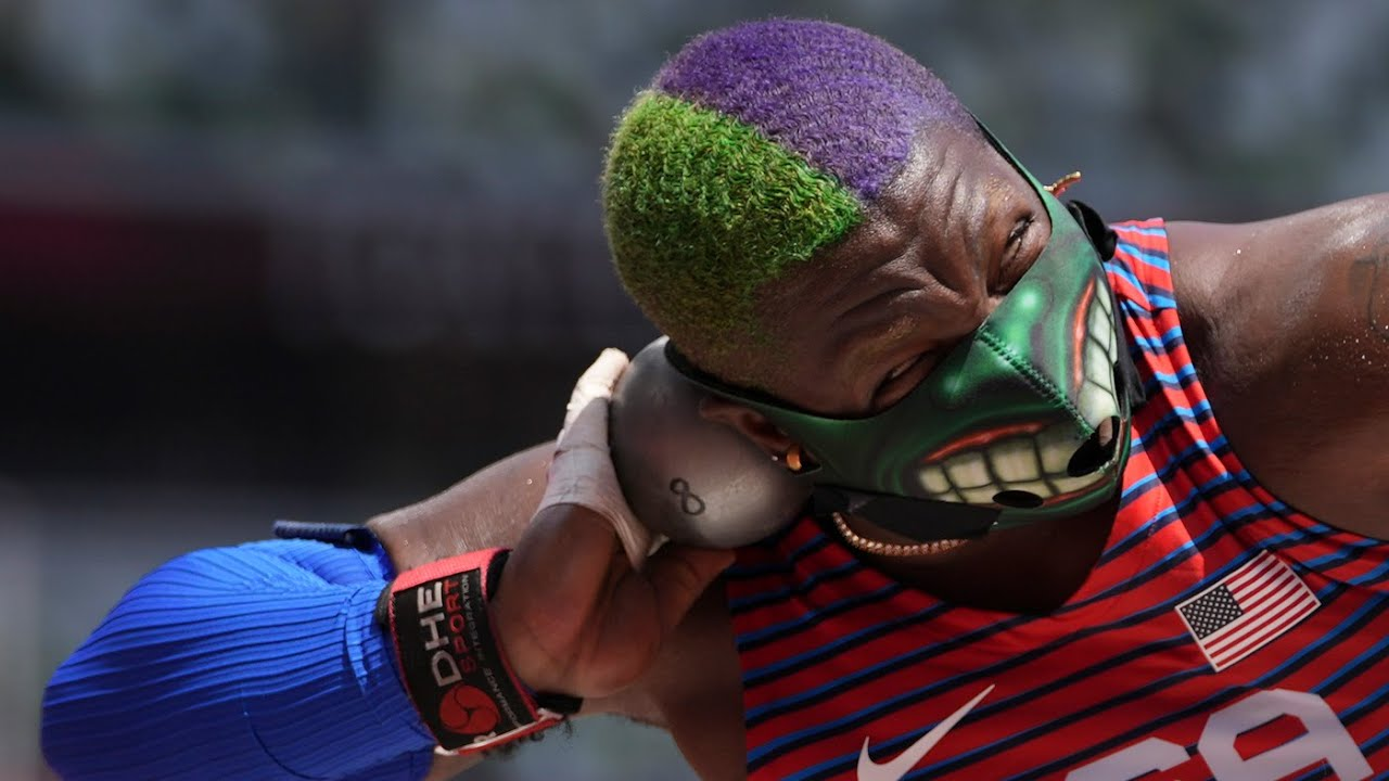 American Raven Saunders let The Hulk come out in the ring to win ...