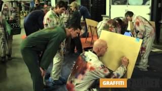 graffiti fabriek - graffiti workshop bedrijfsuitje Vitensa Vierpolders