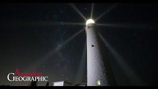 Rottnest Island lighthouse time lapse