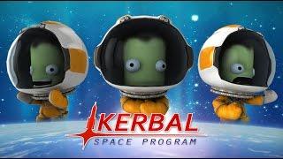 ПЕРВЫЙ ПОЛЕТ В КОСМОС - Kerbal Space Program #1
